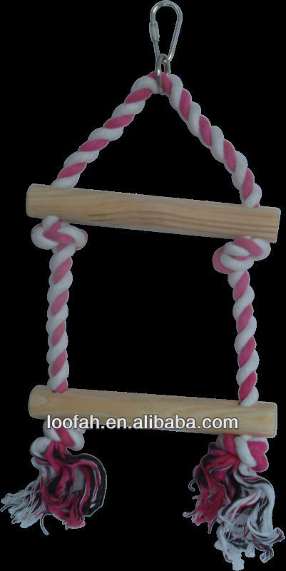cotton rope toy for birds