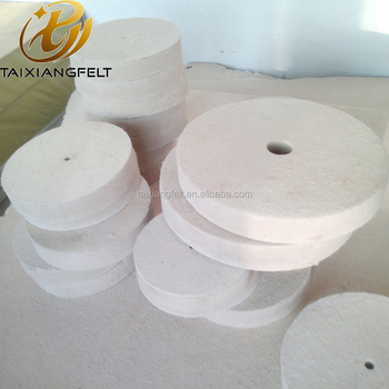 100% Wool felt polishing wheels abrasive disc
