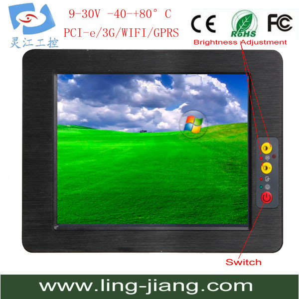 10.4inch Wifi Industrial Touch Panel Computer with RS485 port ,RS232 port,wifi,bluetooth Manufacturer (PPC-104C)