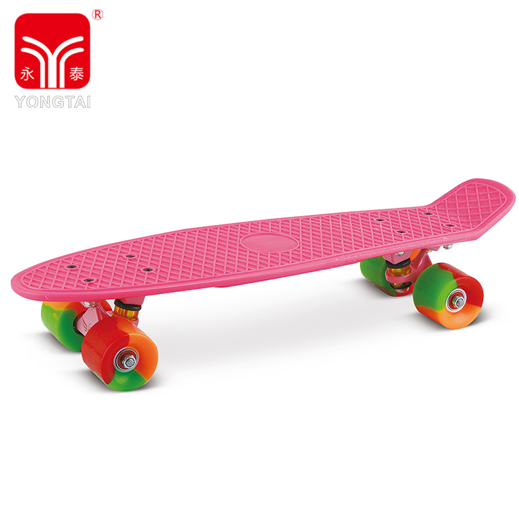 New 22 Inch Balance Skateboard, Street Sport Customized Printing Skate Board For Kids