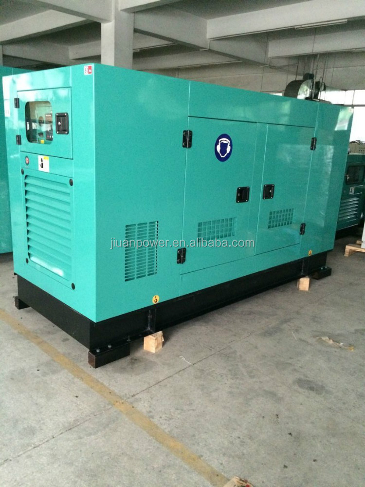 100kva guangzhou power silent electric diesel generator set factory generator set specification