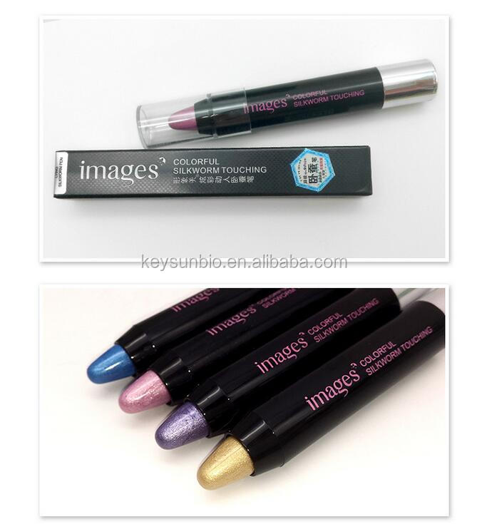 Recommend high quality natural lasting easy colored highlight/eye shadow pen
