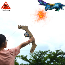 Smartphone wood 3D AR CHER virtual games bow and arrow for children