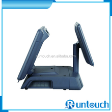 "Runtouch RT-6700A low cost 15"" pos shop billing machines is designed to be compact, portable and foldable"
