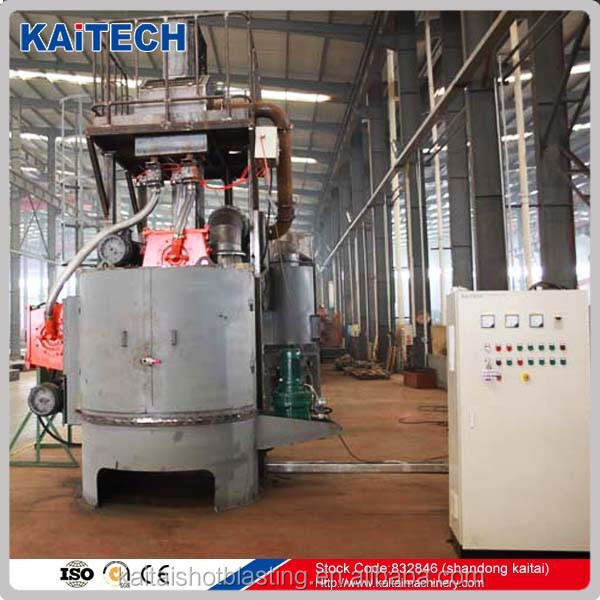 shot peening machine / sand blaster for small table in China