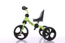 Lovely and novel steel frame baby carrier tricycle bike kids trike with high back seat