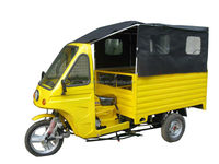 cabin Three Wheel electric Cargo Tricycle
