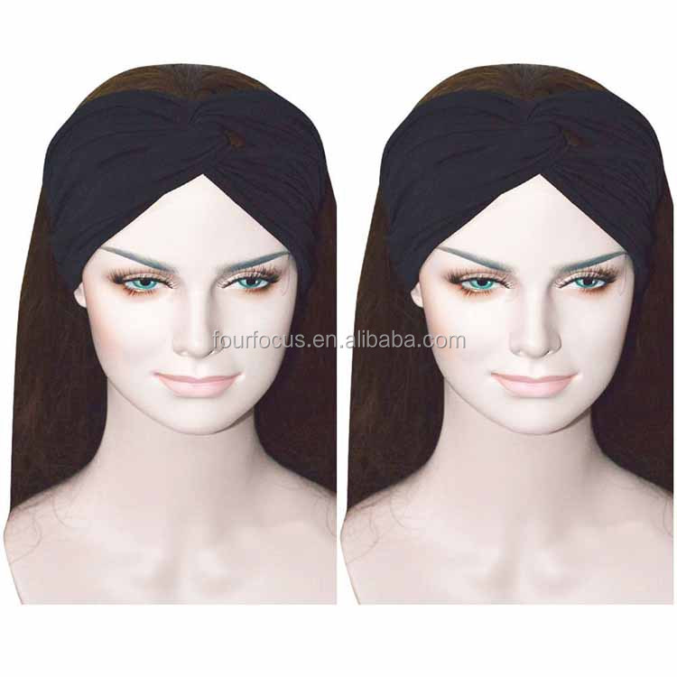 Contrast Color Women Girls Wash the Face Headbands Headwrap Hair Band