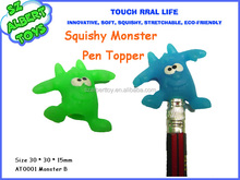Chinese novel products 3d squishy goofy mascots plastic pencil topper