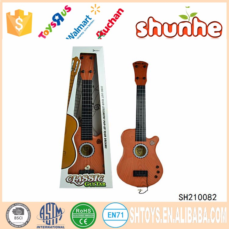 New kid musical instruments plastic guitar