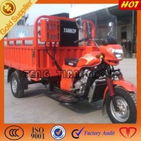 made in China cargo motorcycle Africa farming three wheel cargo tricycle