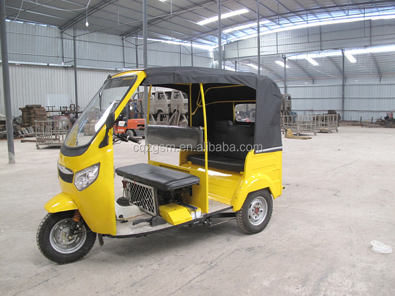 chinese bajaj passenger tricycle/tuk tuk/ three wheeler