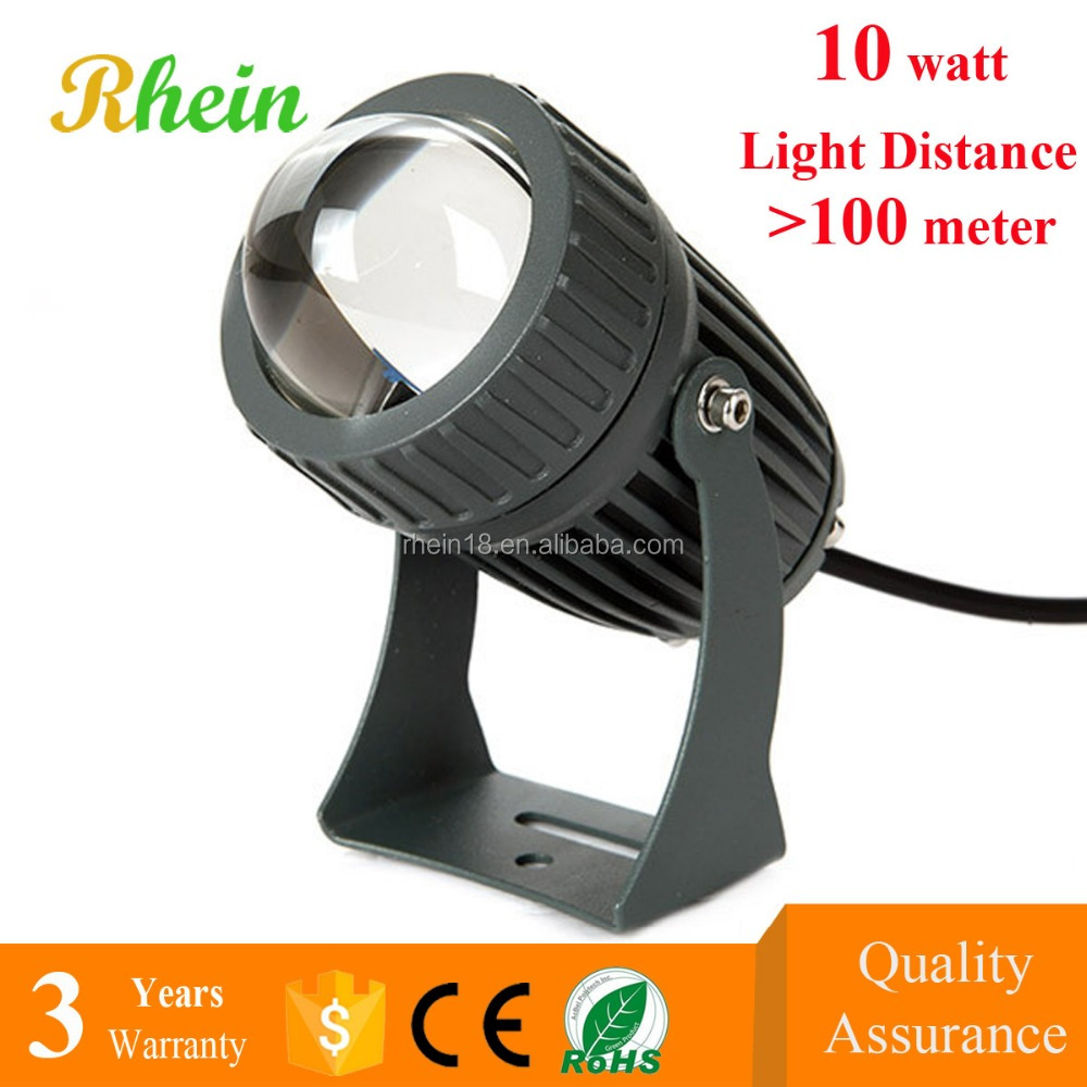 China Best Price Gardeners Eden IP66 10W Outdoor Concentrating LED Projector 10 Watt LED Flood Light