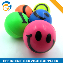 Smiling Face High Bouncing Rubber Ball 32mm