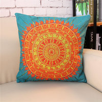 Hot Sale Creative Bohemian Style Pattern Decorative Pillow Case Home Sofa Throw Covers Leather Sofa Cushion Covers
