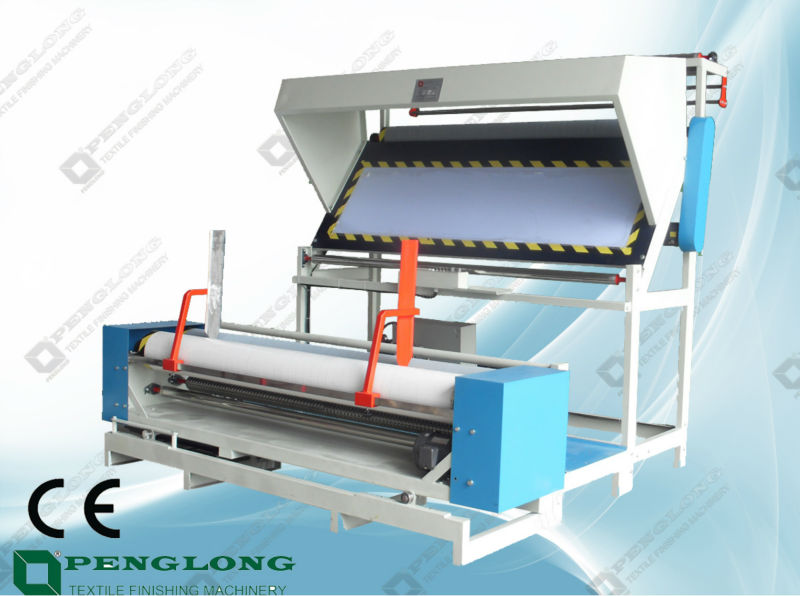Big Batch Fabric Rolling and Measure Machine