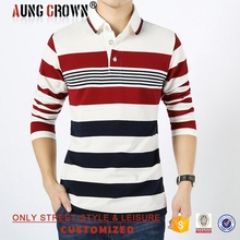 Plain Fashion Polo Tee Shirts For Men Contrast Color Cheap Good Quality