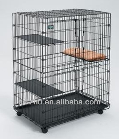 China outdoor antique stainless steel pet cage
