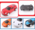 New item super cool mini spray paint plastic emulation pull back vehicle toy for kid fun