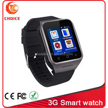 Best usa wholesale 3G Android 4.4 wrist watch cell phone,mini watch with WIFI and bluetooth