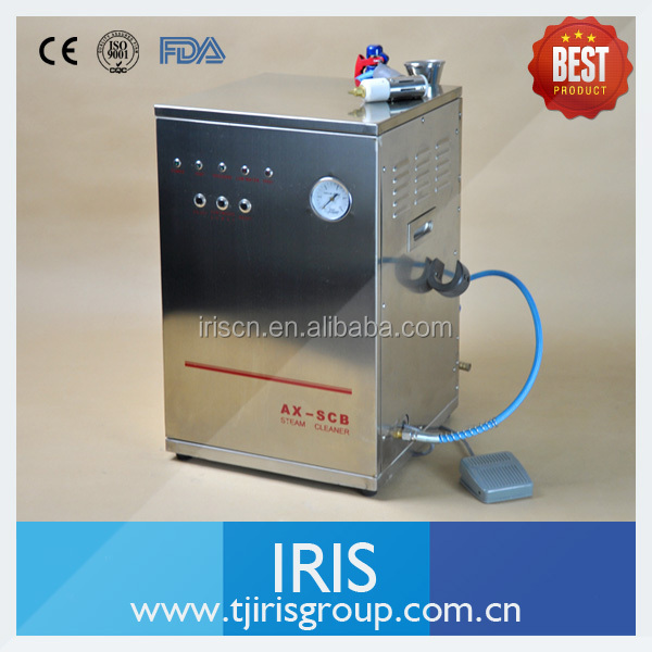 Dental Lab Steam Cleaning Unit with stainless steel body