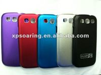 steel case back cover for Samsung Galaxy S3 I9300