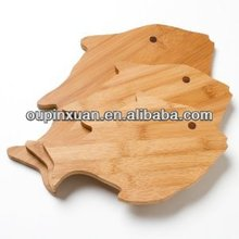 Factory supplier wide Grain fish animal shaped cutting board