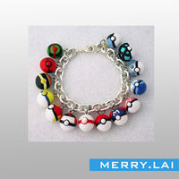 316L stainless steel new design with colorful beads bracelet