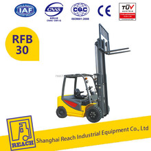 Strong powerful cheapest price 3t mini electric forklift truck with ce