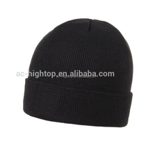 Quality OEM mens wool knitted beanie hat