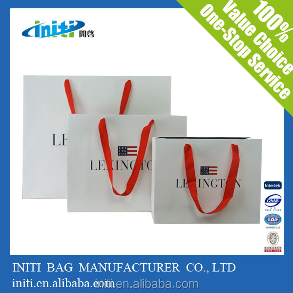 Paper Shopping Bag | 2015 Wholesale Craft/Kraft Paper Shopping Bag For Gift