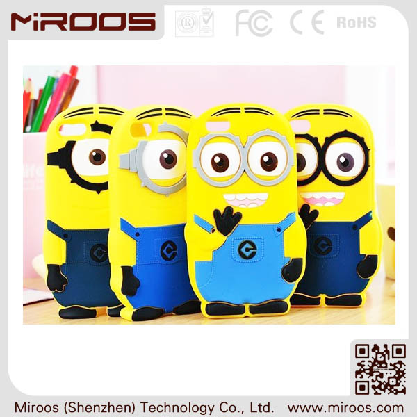 yellow minion case for iphone 4g 4s ipod touch 4
