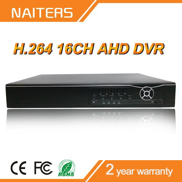 New Style Support AHD Cameras, IP Cameras, Analog Cameras 16CH AHD DVR