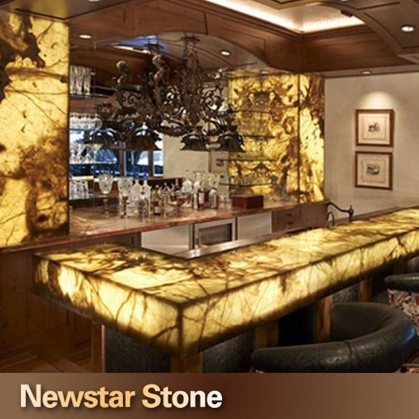 chinese polished luxurious onyx kitchen countertop stone - buy