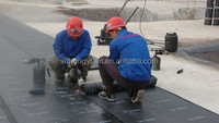 Modified asphalt roof underlayment/roofing felt