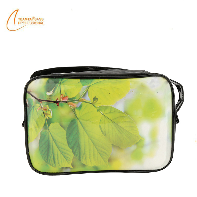 Travel Patent PU Leather Cosmetic Pouch Bag Travel Bags