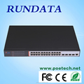 2015 hot sale in Europe market 24 port 10G switch 4 SFP port