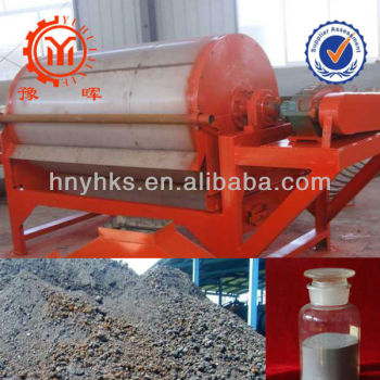 mineral equipment iron ore cross belt magnetic separator with ISO