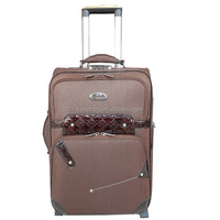 2015 Best selling eminent vintage cheap brown EVA 4 pcs suitcases,three wheels