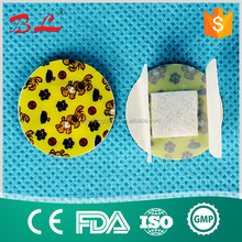 Waterproof Finger Bandage Adhesive Sterile Round Wound Plaster