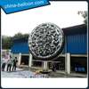 Promotion inflatable tyre shape cushion/ Inflatable Tire Cushion