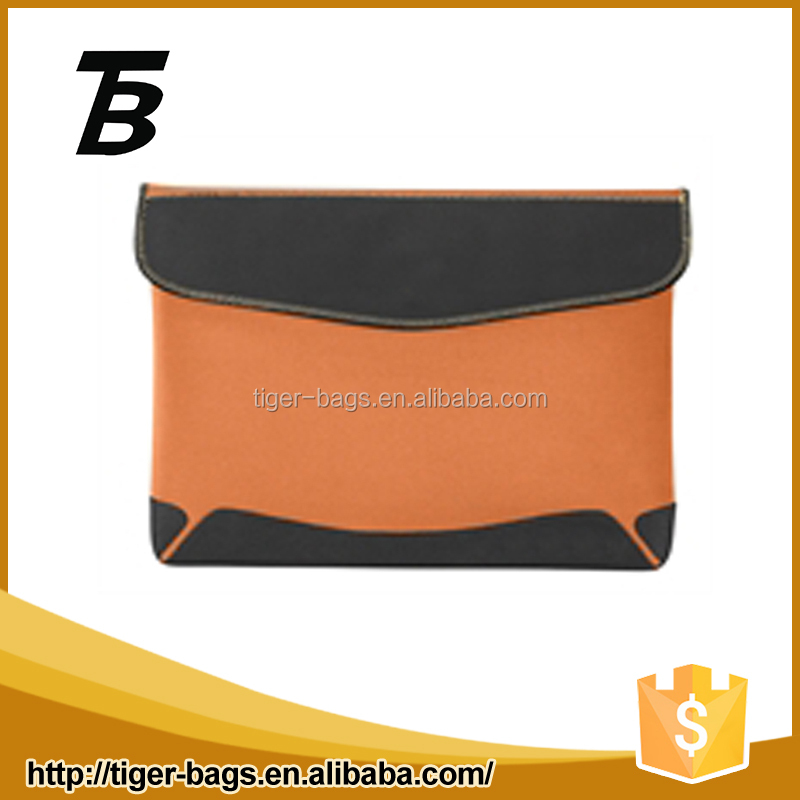 Outdoor use and waterproof neoprene fabric solar laptop bag for wholesales