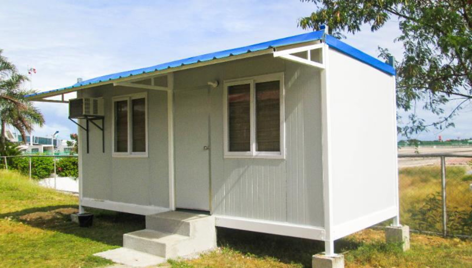 recyclable prefab container house factory price for booth-4