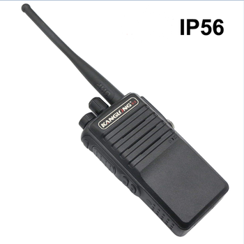 High quality handheld walkie talkie IP56 8W UHF portable waterproof ham radio