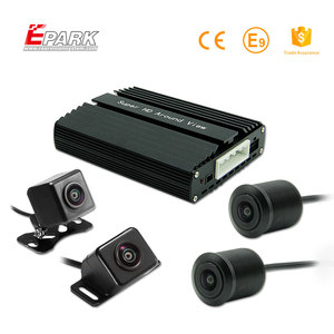 HD DVR 360 Car Camera All Round Bird View System,4 Way Reverse 360 Degree Car Camera System,360 View Car Camera System