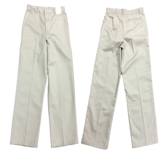 School Uniform Top Quality Cheap Mens Formal Pant Casual Pencil Fit Trousers