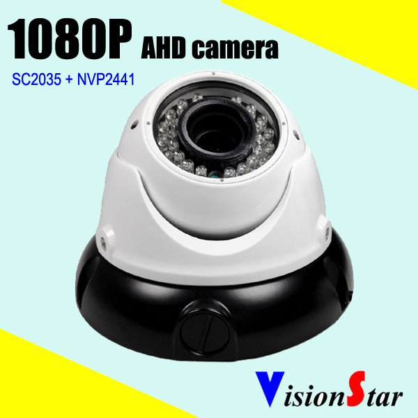 VisionStar Manufacture Supply 2.0MP AHD CCTV Monitoring Camera vandalproof dome case surveillance system