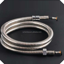 H2 rubber hose extra long stainless steel shower hose