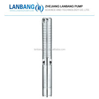 "Stainless Steel Frame Stainless Steel 2"" 3 Inch Quality Hot Selling Irrigation Oil-Filled Deep Well Submersible Pump"