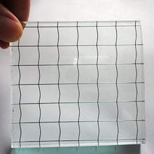 Good suppliers supply security guard against theft tempered chicken wire glass